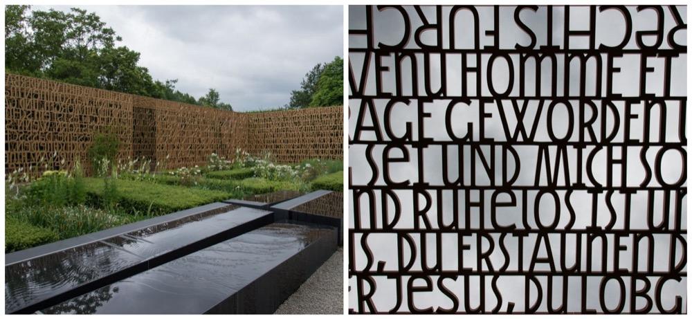 Photos de l'étonnant jardin chrétien, qui a ouvert en 2011.