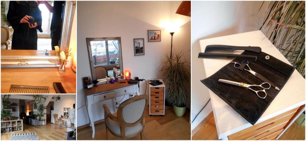 J 39 ai test le salon de coiffure particulier de marc for Salon de coiffure miroir