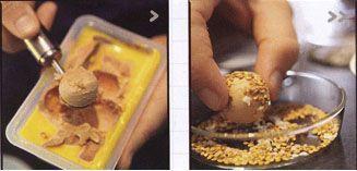 Truffes de foie gras regal pour un ap ritif r ussi for Amuse bouche foie gras aperitif