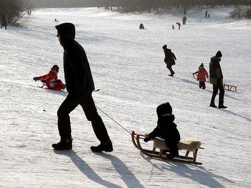 Où faire de belles glissades dans la neige à Berlin ?