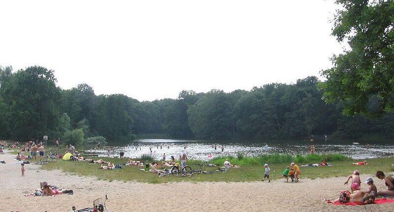 Le lac de Jungfernheide