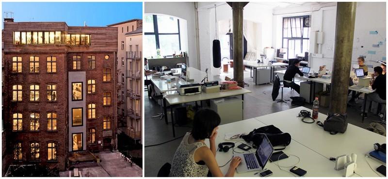 Espaces de coworking à Berlin  © Wikimedia Commons
