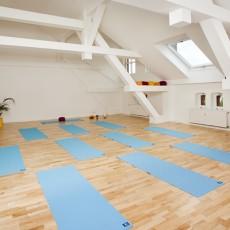 Salle du Studio de Yoga Sky