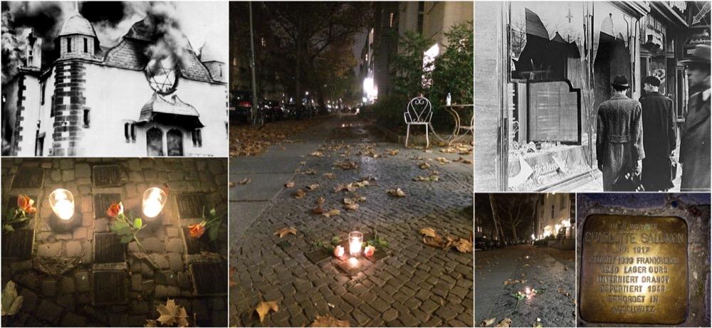 Kristallnacht © DR - Stolpersteine - Kristallnacht Berlin © AMV