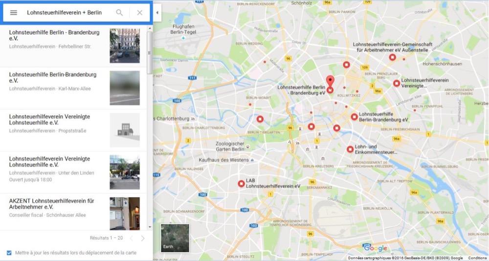 Brancher le site Web Allemagne