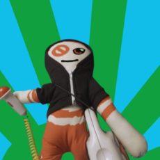 La poupée véto-effigie du collectif