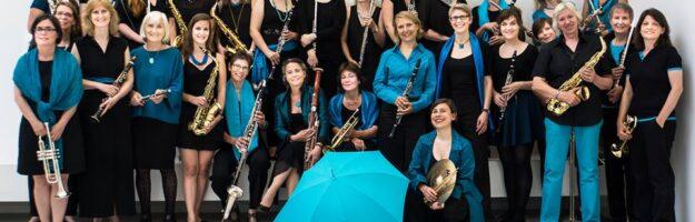 L'orchestre féminin Berliner Frauenensemble Holz und Blech