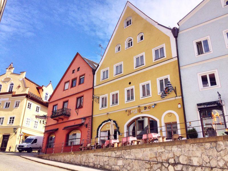 Une rue de Füssen