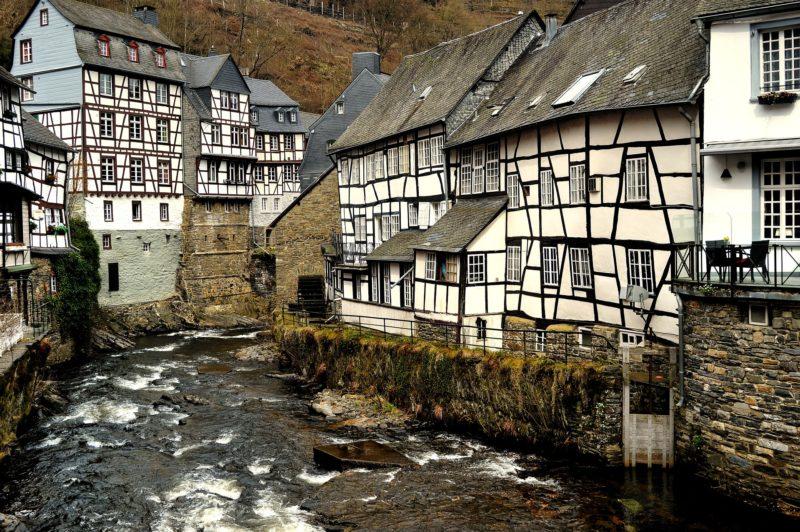 les maisons à colombage de Monschau