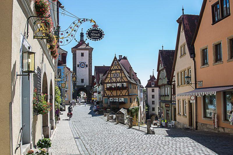 Rothenburg classé parmi les plus beaux villages d'Allemagne