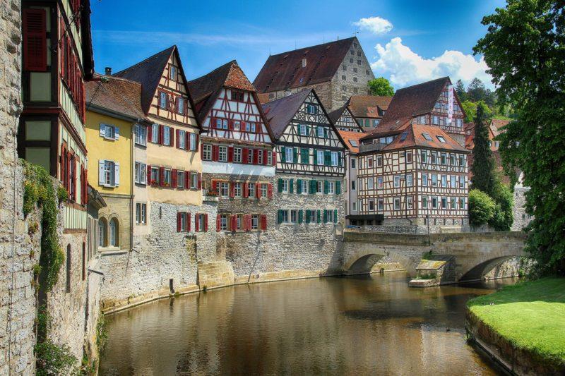 Un canal Schwäbisch Hall