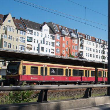 Un S-bahn, train express métropolitain berlinois.