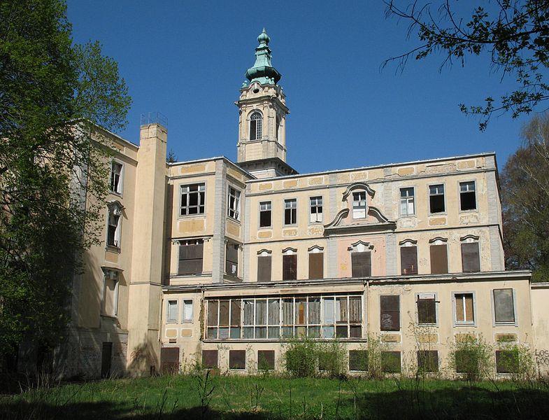 Le château de Dammsmuehle dans le Brandebourg