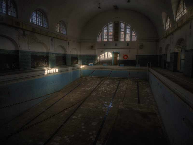 La piscine de Wunsdörf, un incontournable de l'Urbex