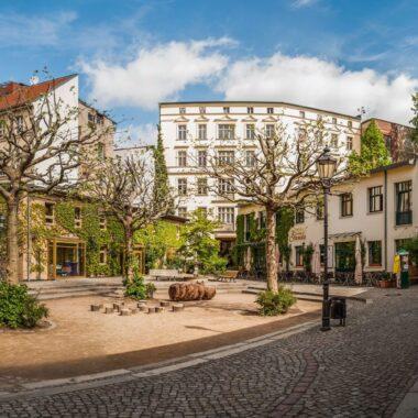 Le micro quartier d'Heckmann-Höfe