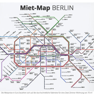 La carte des loyers berlinois