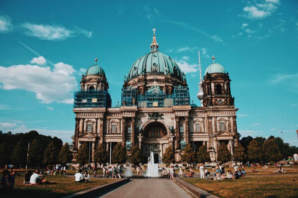 Cathédrale de Berlin (photo prise pendant les travaux)