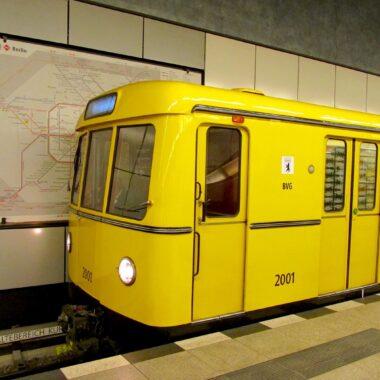 Métro de Berlin (U-Bahn), inclus dans votre Berlin WelcomeCard
