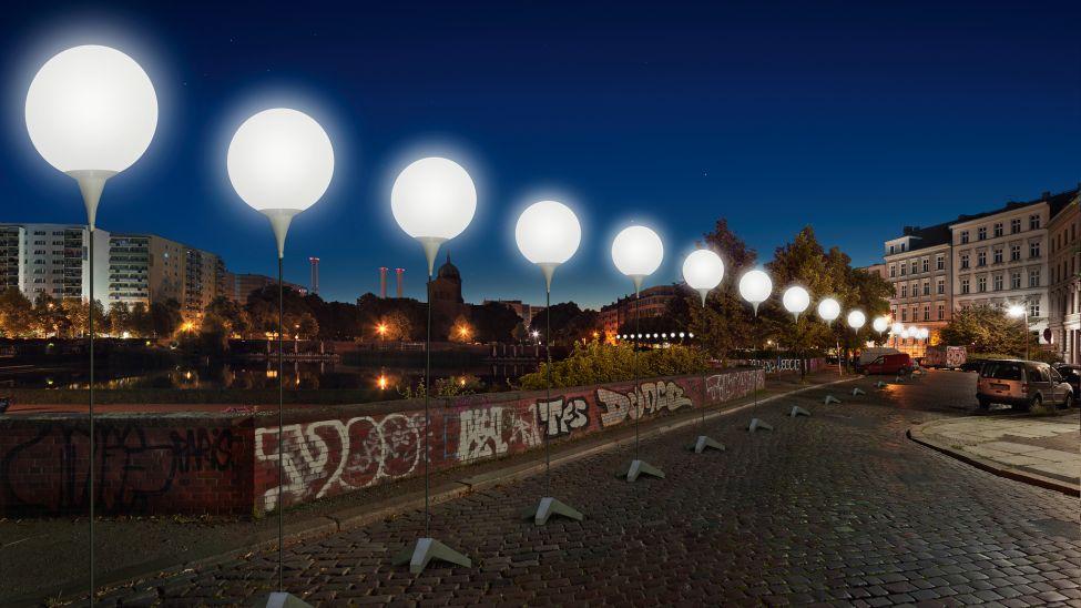 8 000 ballons seront illuminés le long de l'ancien tracé