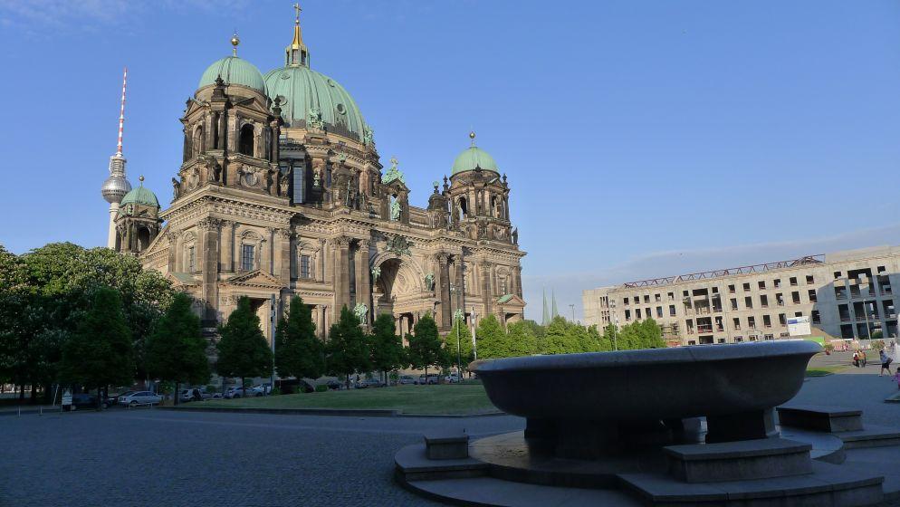 La Suppenschüssel devant l'Altes Museum